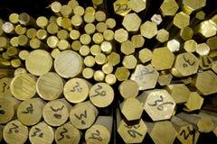 黄铜存贮 库存图片