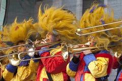 黄铜节日国际 库存图片