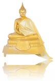 黄铜菩萨图象开会 库存照片