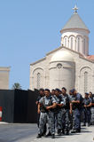 黎巴嫩战士 免版税图库摄影