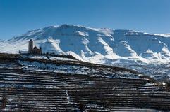 黎巴嫩的山 库存照片