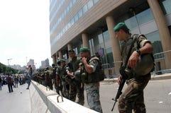 黎巴嫩陆军 图库摄影