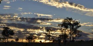 黎明在维多利亚澳大利亚 库存照片