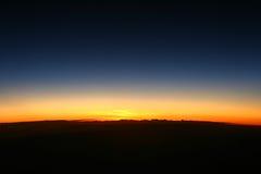 黎明地球 库存图片