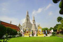 黎明寺寺庙,曼谷泰国 库存照片