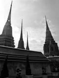 黎明寺庙 库存图片