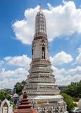 黎明寺晓寺在曼谷,泰国 免版税图库摄影