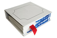 黏合剂书签 免版税库存图片