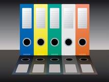 黏合剂企业影子 库存图片