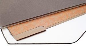 黏合剂棕色文件夹 图库摄影