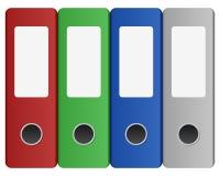 黏合剂空白标记环形 免版税库存照片