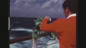黏土在游轮的目标投掷者 影视素材