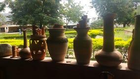 黏土工厂库马西-加纳 免版税图库摄影