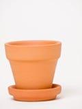 黏土工厂罐赤土陶器 免版税库存图片