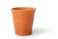 黏土杯子 免版税库存图片