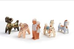 黏土玩具2 库存照片