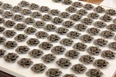 黏土玫瑰 免版税库存图片