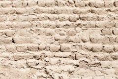黏土砖墙壁 免版税库存照片