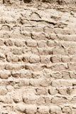 黏土砖墙壁 免版税图库摄影