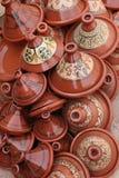 黏土陶器顶层 免版税图库摄影