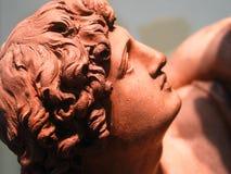 黏土雕象 免版税库存照片