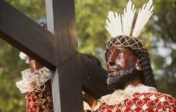 黑人基督教徒 免版税库存照片