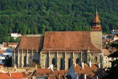 黑人教会(Brasov)罗马尼亚 免版税库存图片