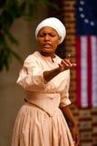 黑人殖民妇女 库存照片