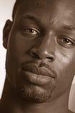 黑人青年 免版税库存图片