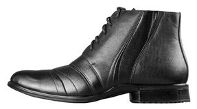 黑人s鞋子 库存图片