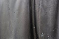 黑假肮脏的皮革纹理 库存图片