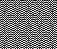 黑几何无缝的Z形图案在白色背景中 向量例证