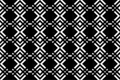 黑几何背景 皇族释放例证