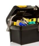 黑匣子塑料集合工具 免版税库存图片