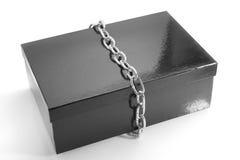 黑匣子链子 图库摄影