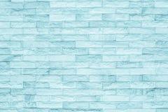黑和蓝色砖墙纹理背景 库存照片