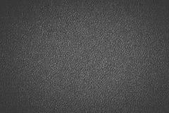 黑塑料材料无缝的背景和纹理 免版税库存图片