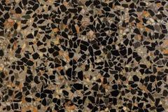 黑大理石背景和许多颜色 库存照片