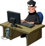 黑客 免版税图库摄影