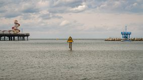 黑尔讷海湾,肯特,英国,英国 免版税库存图片