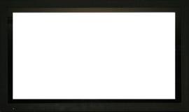 黑屏 免版税库存图片