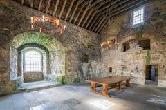 黑度城堡,在omonimous村庄附近在福尔柯克理事会地区,苏格兰 免版税图库摄影