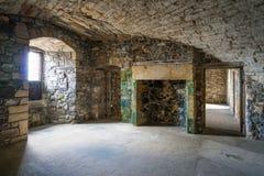 黑度城堡,在omonimous村庄附近在福尔柯克理事会地区,苏格兰 免版税库存图片