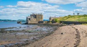 黑度城堡,在omonimous村庄附近在福尔柯克理事会地区,苏格兰 库存照片