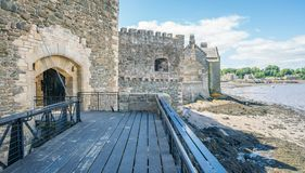 黑度城堡,在omonimous村庄附近在福尔柯克理事会地区,苏格兰 库存图片