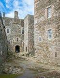 黑度城堡,在omonimous村庄附近在福尔柯克理事会地区,苏格兰 免版税库存照片