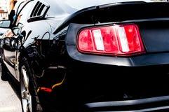黑恶魔肌肉汽车 次幂 能量 adria 驱动器 免版税图库摄影