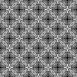 黑抽象样式在白色背景中 免版税库存图片