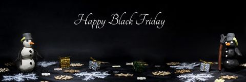 黑星期五摘要照片 愉快的圣诞快乐 库存图片
