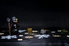 黑星期五摘要照片 愉快的圣诞快乐 免版税库存照片